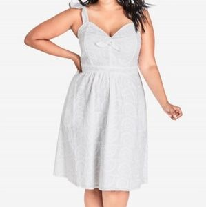 NWT City Chic Innocent Dress size 20